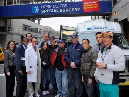 NY medical team arrives in Haiti on a borrowed wing
