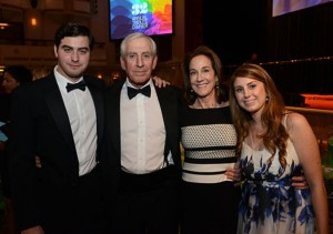 Dr. Helfet and family - Lifetime Achievement Award