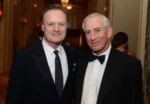 Dr. Helfet with Lawrence O'Donnell